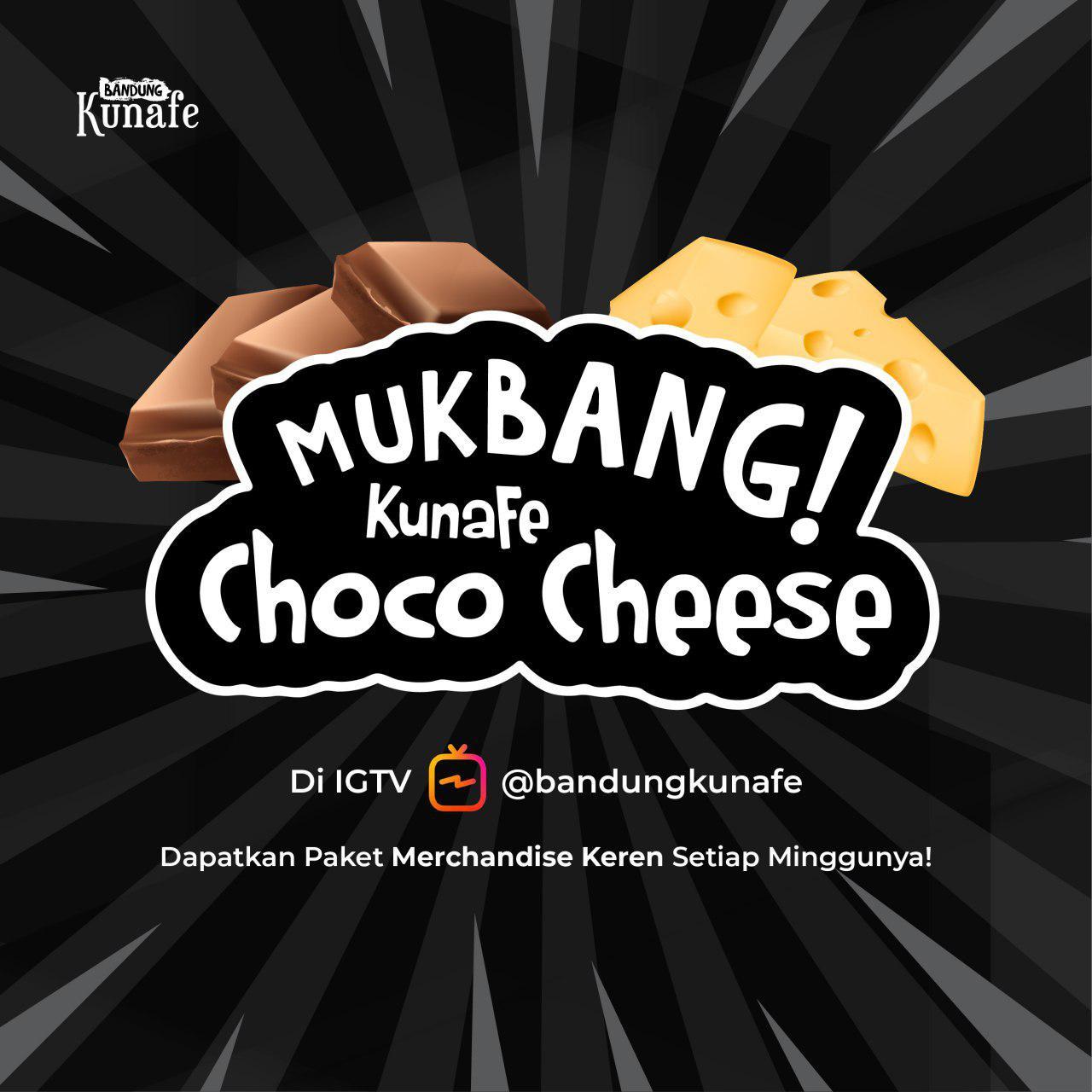 Lomba Mukbang Kunafe Choco Cheese bareng Bandung Kunafe