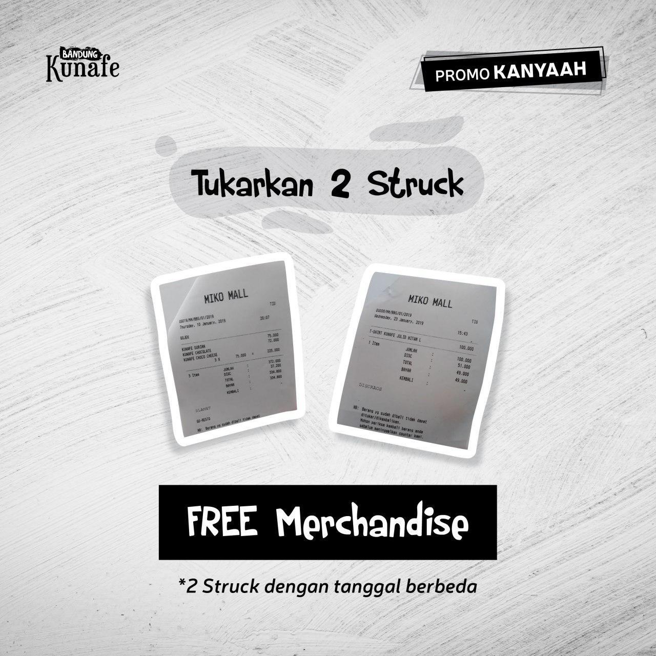 promo kanyaah free merchandise