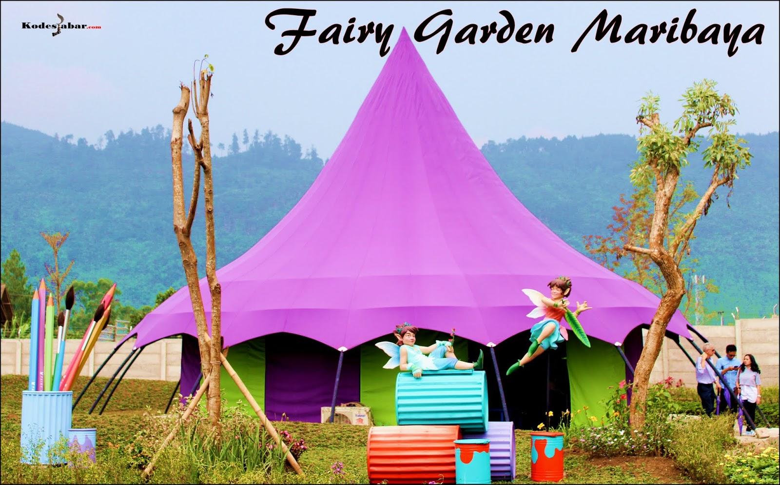 Rumah Peri Fairy Garden Bandung