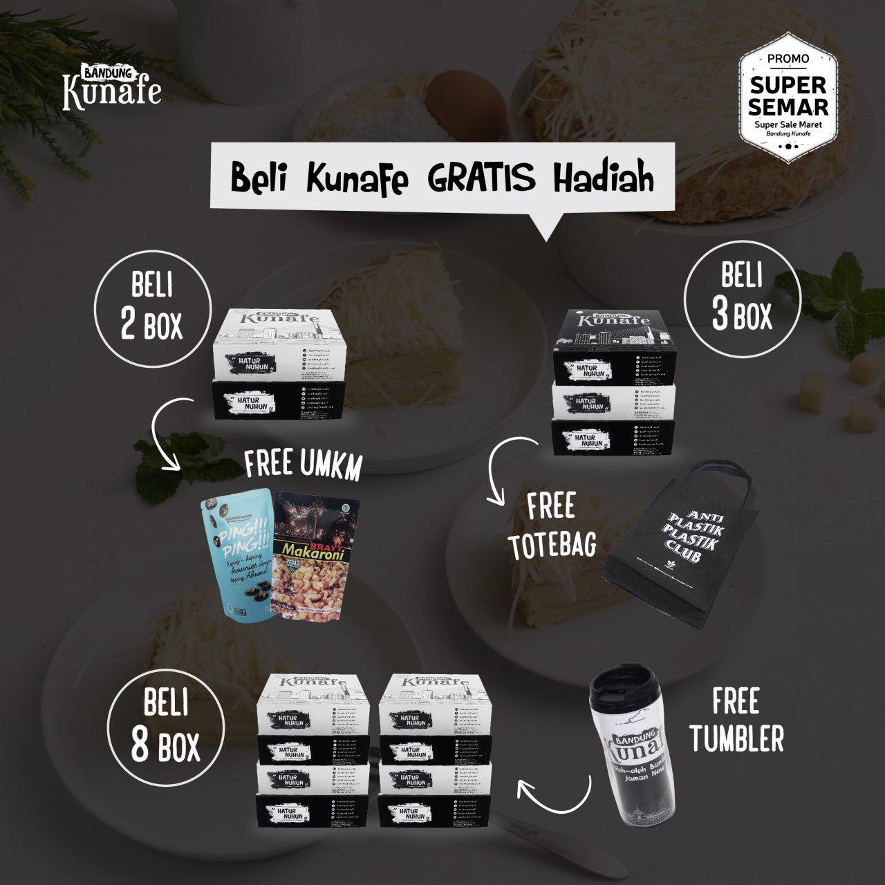 Promo Free UMKM Bandung Kunafe
