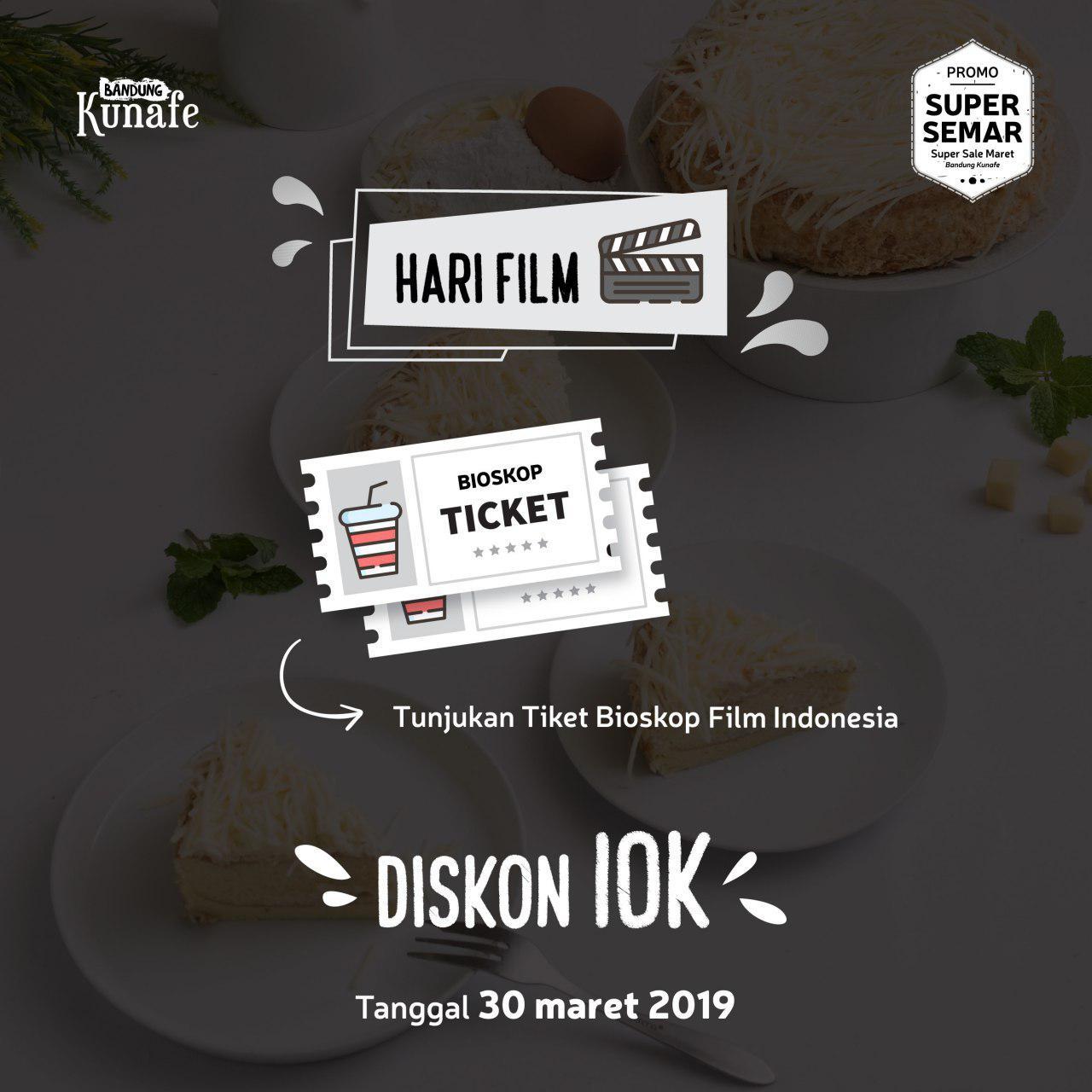 Promo Hari Film Nasional Bandung Kunafe