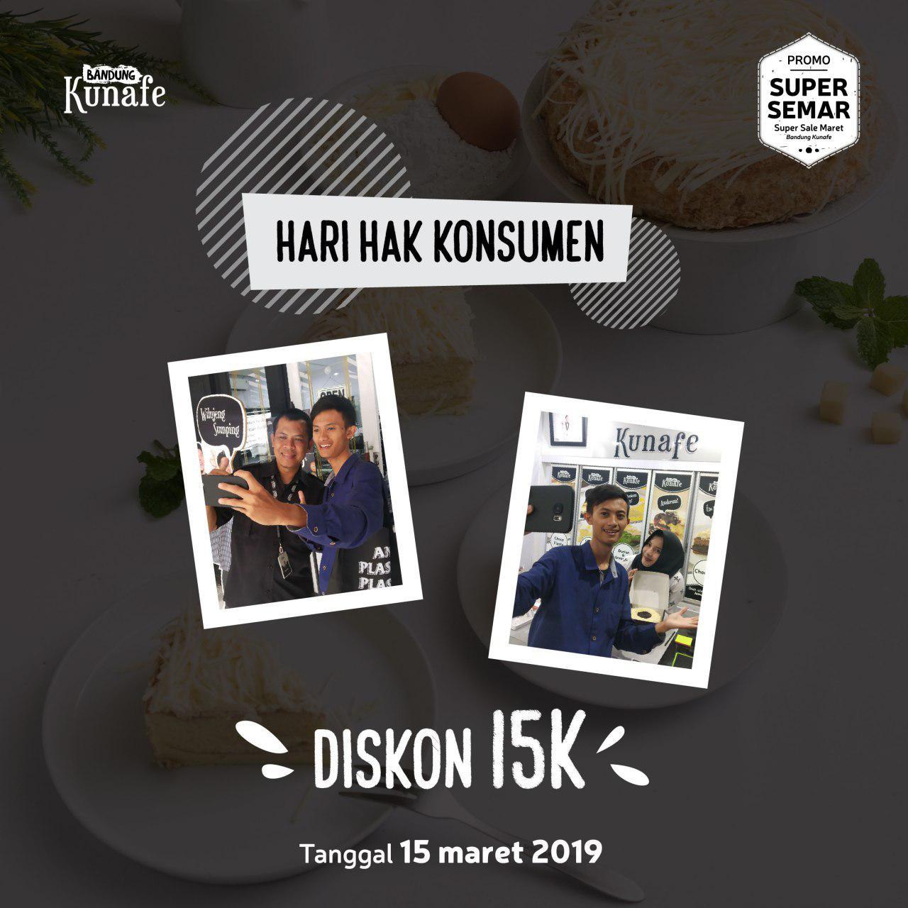 Promo Hari Hak Konsumen Bandung Kunafe