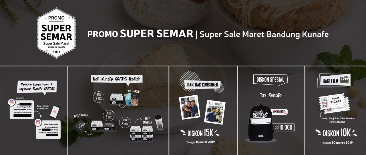 Promo Supersemar Bandung Kunafe